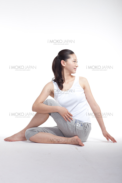 Stretching out body Woman